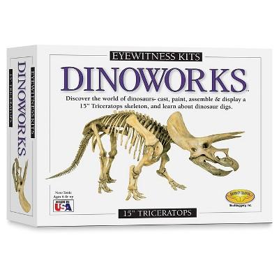 Eyewitness Triceratops Dinosaur Casting Kit