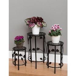 Nesting Plant Pedestals, Set of 3 - GARDENER'S SUPPLY CO.
