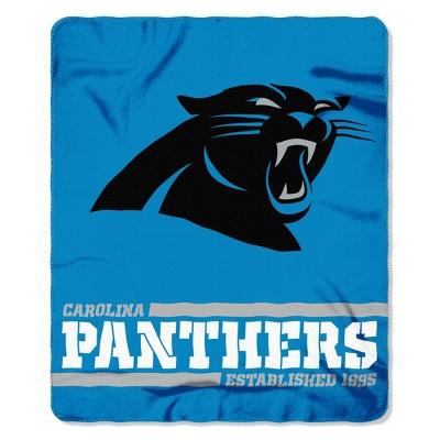 The Northwest Company Carolina Panthers Fleece Throw , Blue