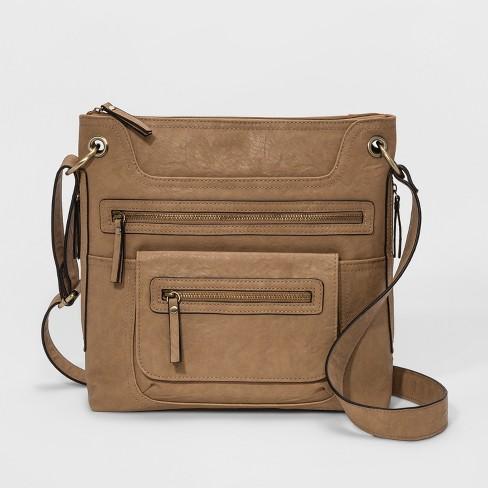 f0ab46e1972 Bueno Veg Tan Crossbody Bag - Light Beige : Target