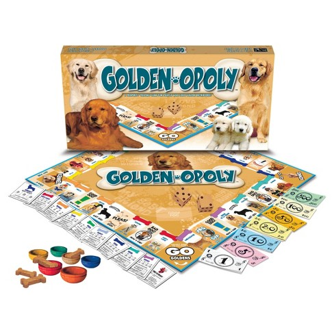 Golden Retriever opoly Game - image 1 of 1