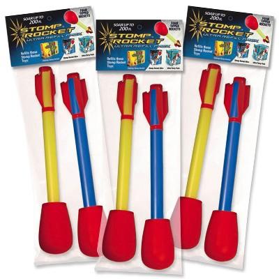 Stomp Rocket Ultra Refill Pack - Set of 3