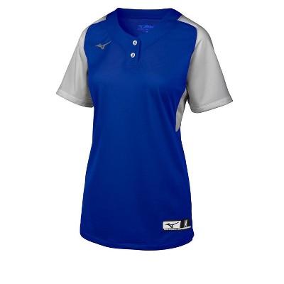 Mizuno Youth Aerolite 2-Button Softball Jersey