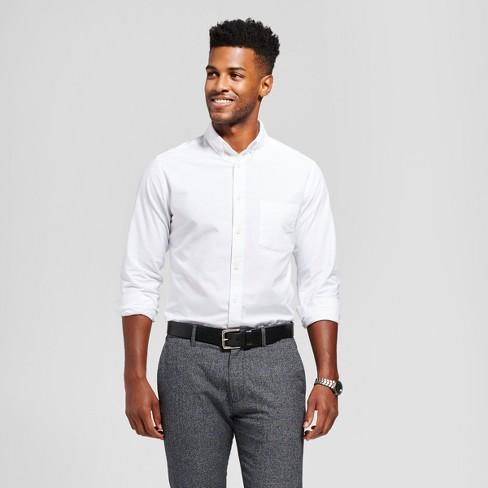 d5439d2b282f Men's Standard Fit Whittier Oxford Button-Down Shirt - Goodfellow & Co™ :  Target