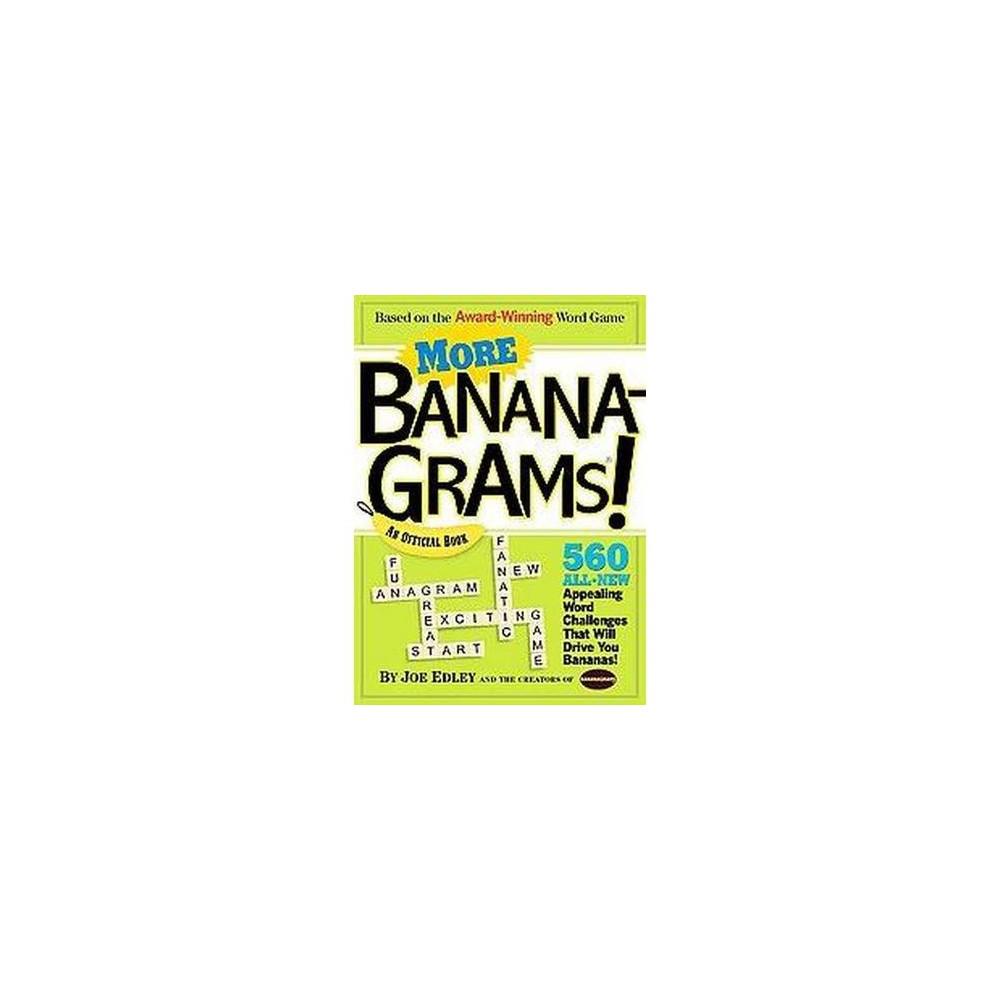 More Bananagrams Paperback By Joe Edley