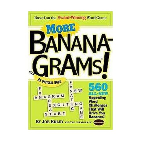 More Bananagrams! (Paperback) by Joe Edley - image 1 of 1
