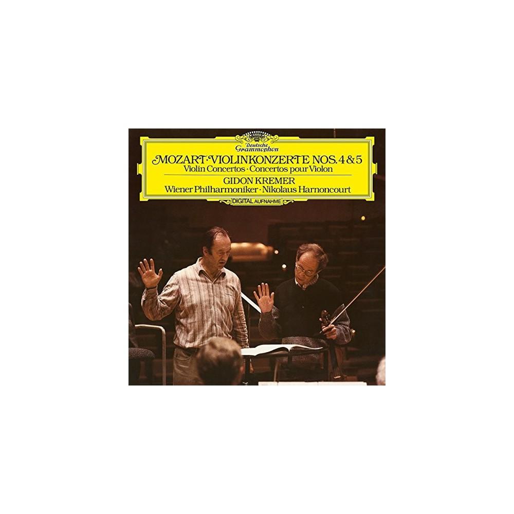 Gidon Kremer - Mozart:Violin Concertos No 4 & 5 (Vinyl)