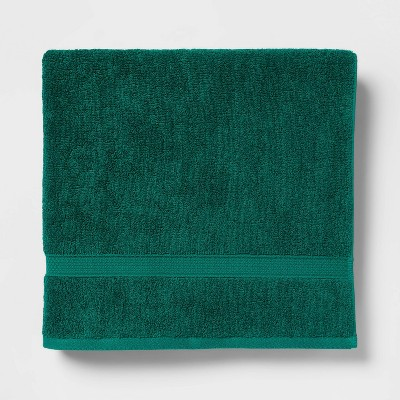 Perfectly Soft Solid Bath Towel Bluff Green - Opalhouse™