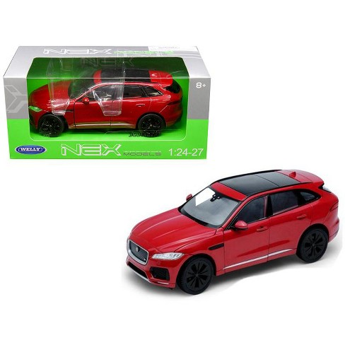 Jaguar F-Pace Red 1/24 - 1/27 Diecast Model Car by Welly - image 1 of 2