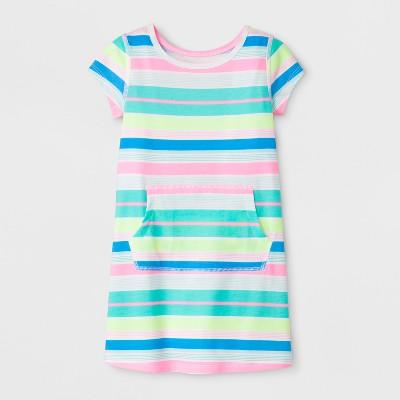 1d899554215509 Toddler Girls  Adaptive Knit Stripe Dress - Cat   Jack™ Rainbow