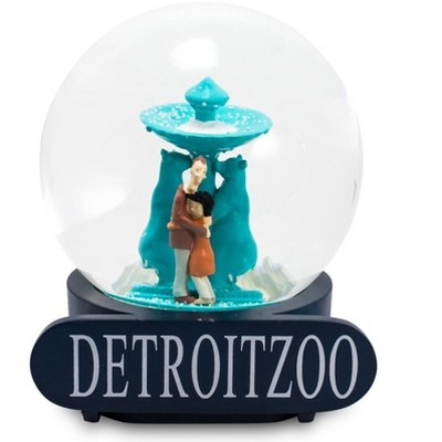 Surreal Entertainment Coraline Snow Globe Detroit Zoo Collectible Display Piece | 6 Inches Tall