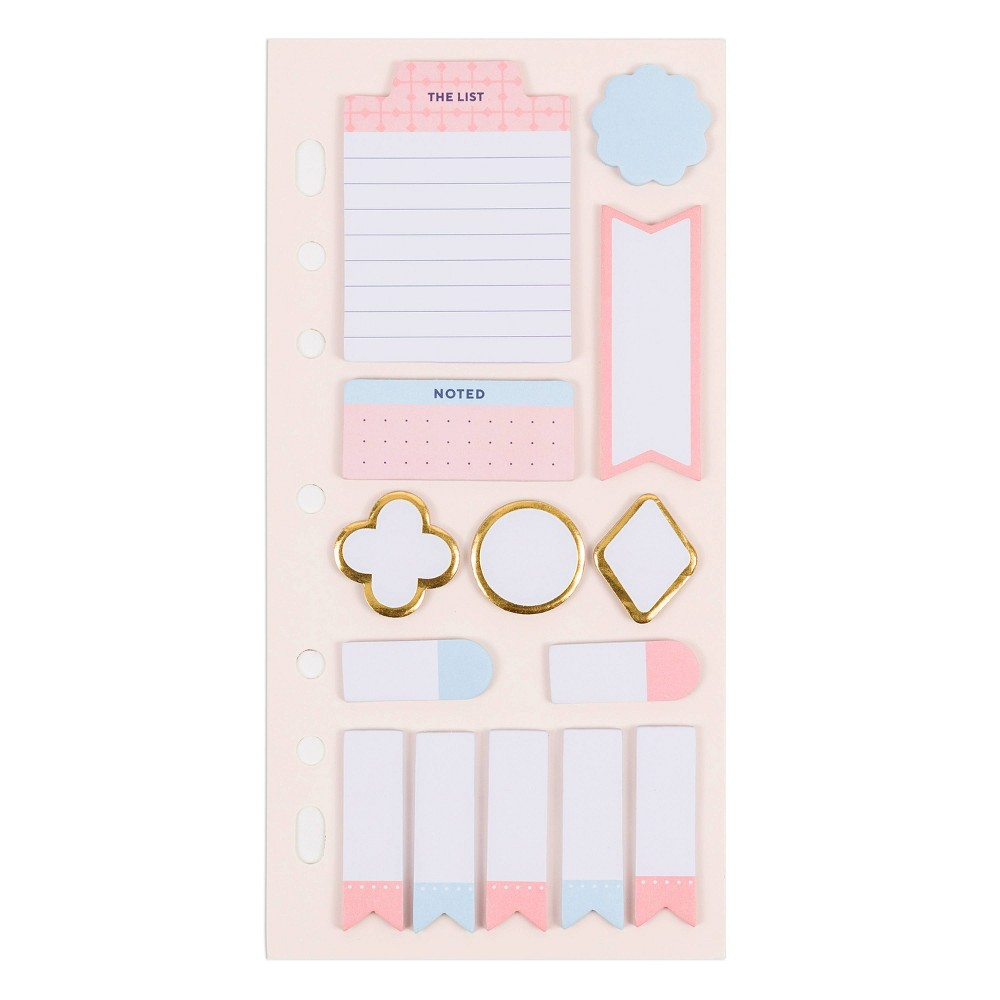 Multi-Sized Planner Sticky Notes - Delicate Details - U-Brands was $4.99 now $2.49 (50.0% off)