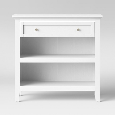 Carson Console Table White - Threshold™ - image 1 of 3