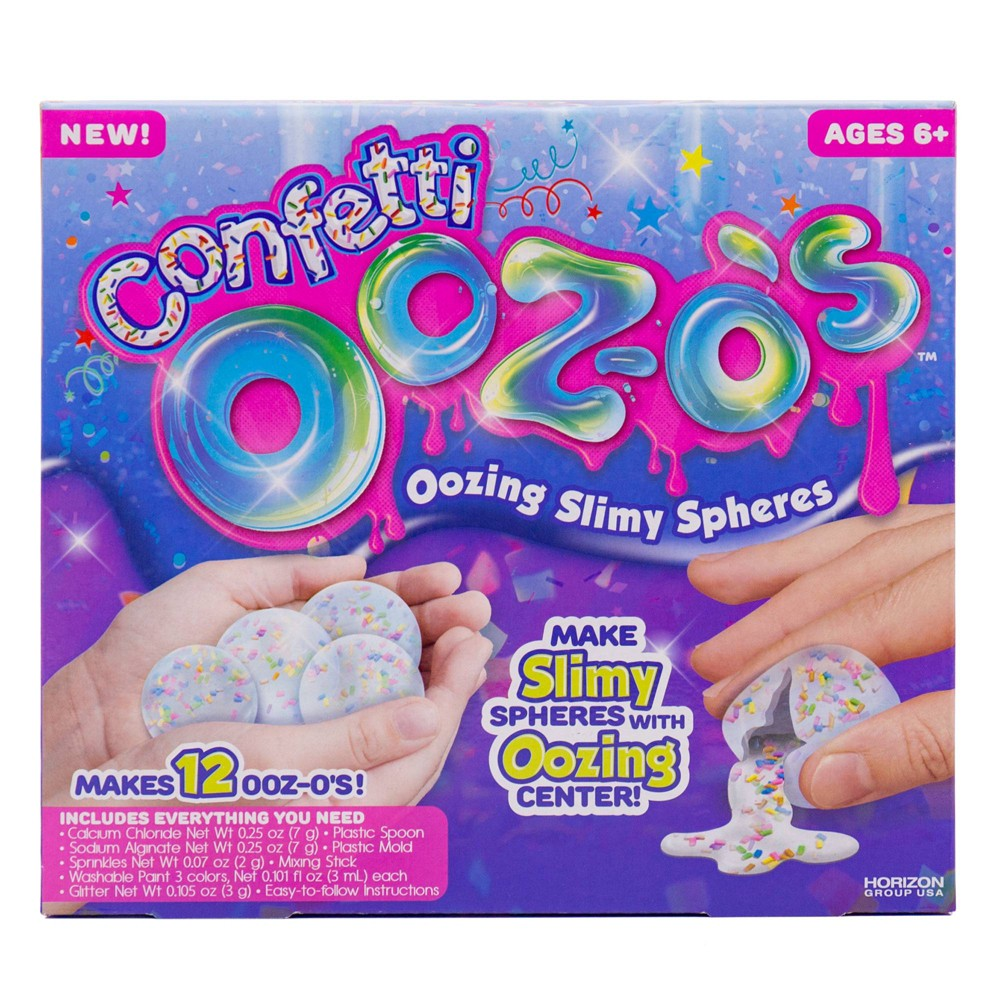 Image of Ooz-o's Confetti Oozing Slimy Spheres