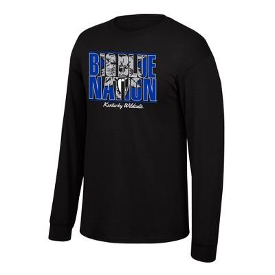 NCAA Kentucky Wildcats Men's Long Sleeve Crew Neck T-Shirt