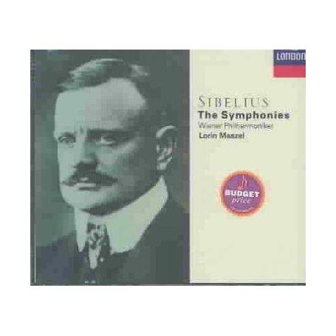 Lorin [Conductor]; Vienna Philharmonic Orchestra  Jean; Maazel Sibelius - Sibelius: Syms. 1-7 (CD) - image 1 of 1
