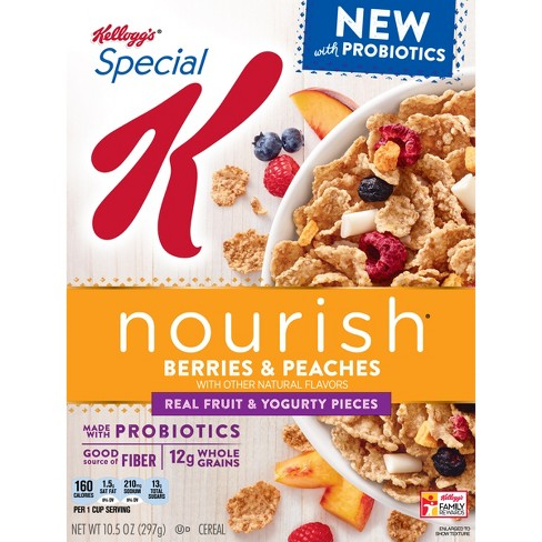 Special K Nourish Berries & Peaches Breakfast Cereal - 10.5oz - Kellogg's - image 1 of 5