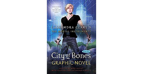 City of Bones -  Reprint (Mortal Instruments, the) by Cassandra Clare (Hardcover) - image 1 of 1