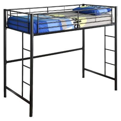 Twin Premium Metal Loft Bed   Saracina Home