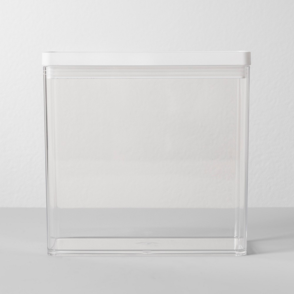 8W X 4D X 8H Plastic Food Storage Container Clear - Made By Design