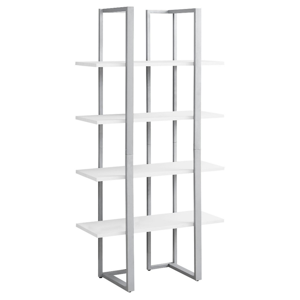 60 Metal Bookcase White - EveryRoom
