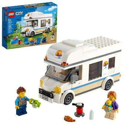 LEGO City Holiday Camper Van Building Kit 60283
