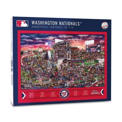 MLB Washington Nationals 500pc Find Joe Journeyman Puzzle
