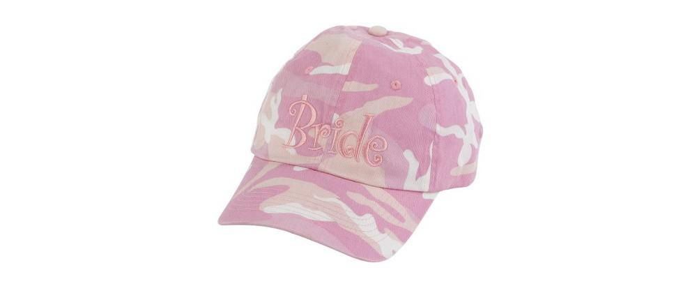 Camouflage Cap - Pink, Baseball Hats thumbnail