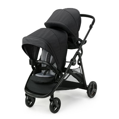 Graco Ready2Grow LX 2.0 Double Stroller - Gotham