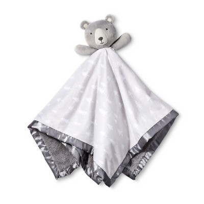 Large Security Blanket Bear - Cloud Island™ Gray