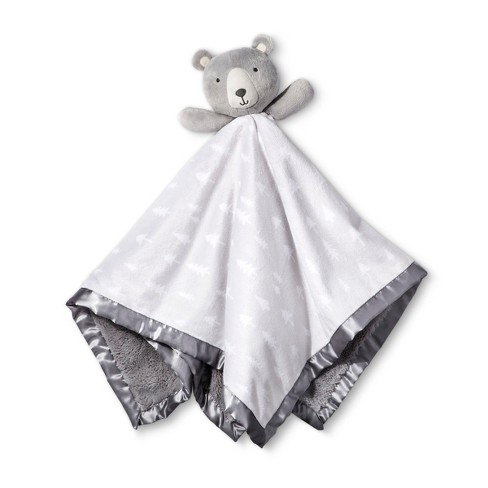 Large Security Blanket Bear - Cloud Island™ Gray - image 1 of 1
