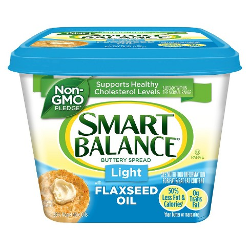 Smart Balance Light 39% Natural Vegetable Flax Oil Spread - 15oz - image 1 of 1