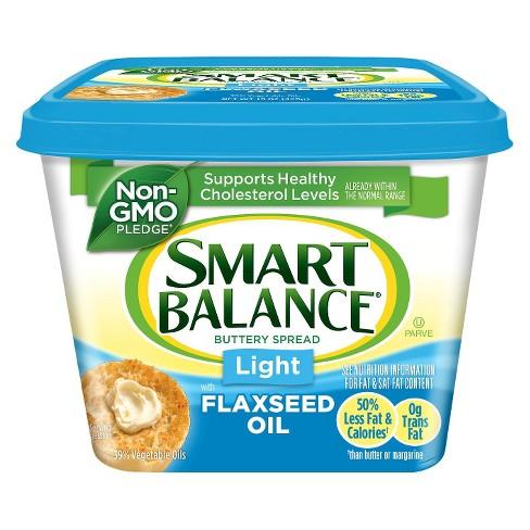 Smart Balance Light 39% Natural Vegetable Flax Oil Spread - 15oz - image 1 of 1