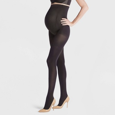 Assets By Spanx Women's Maternity Terrific Tights - Black 2