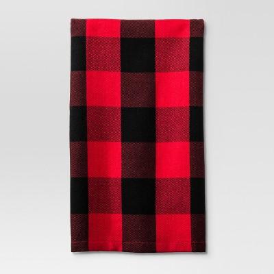 Dynamic Red Check Kitchen Towel - Threshold™
