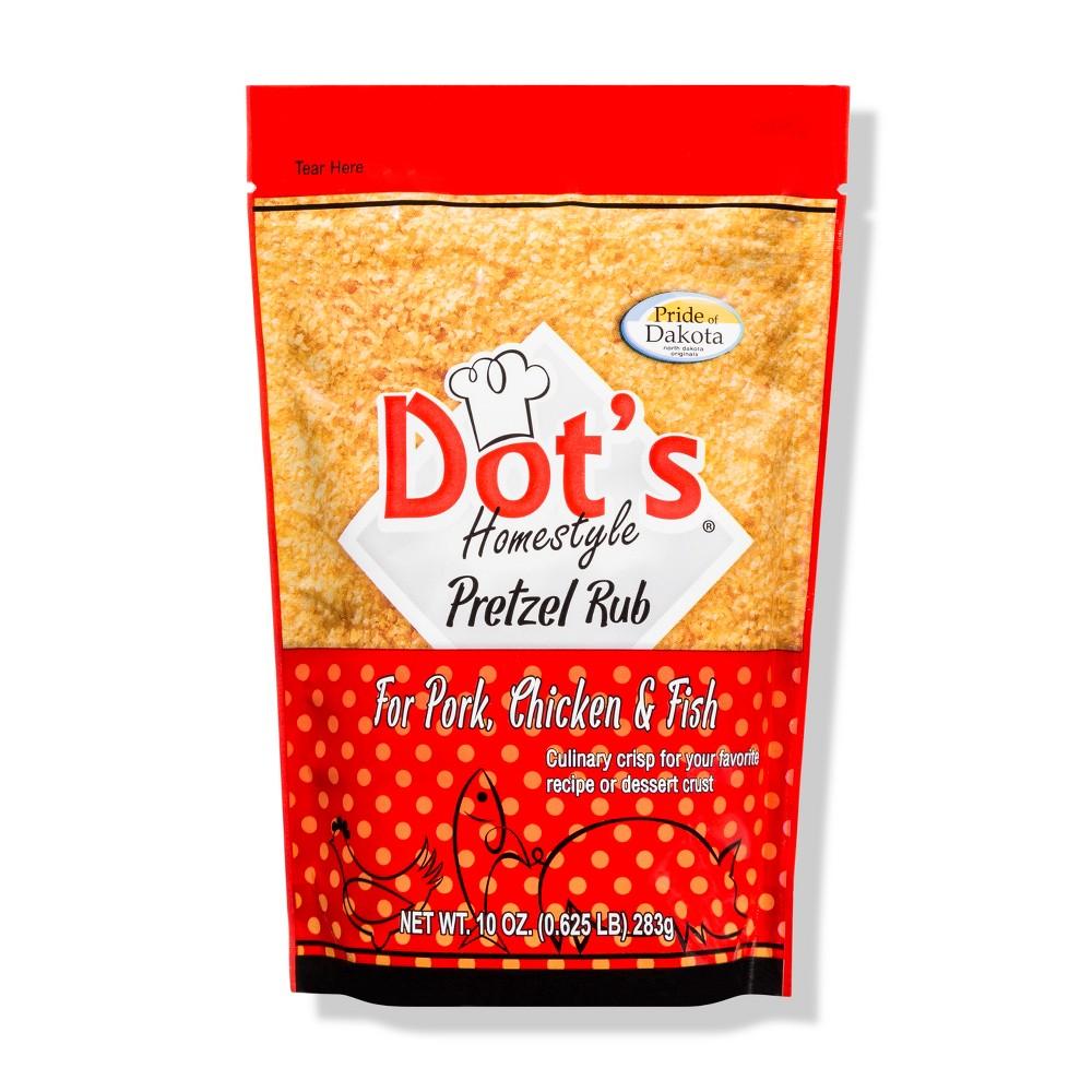 Dot's Homestyle Pretzel Rub - 10oz