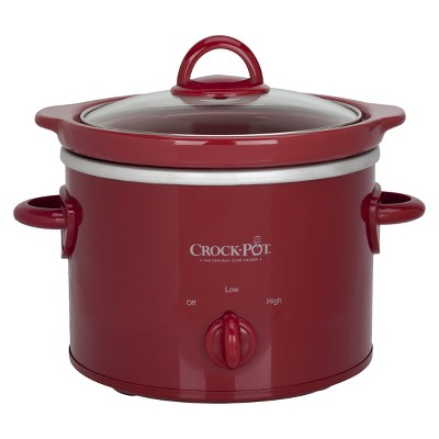 Crock-Pot® 2 Qt. Slow Cooker - Red SCR200