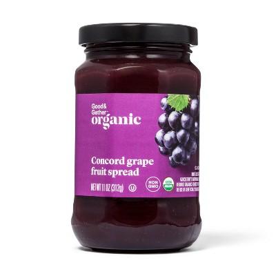 Organic Concord Grape Fruit Spread 11oz - Good & Gather™
