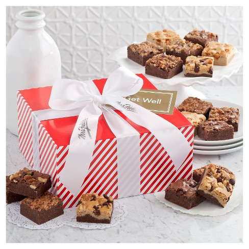 Mrs. Fields Sweet Stripes Medium Box With 12 Brownies - image 1 of 1