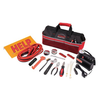 Apollo Tools 53pc DT9771 Emergency Tool Kit with Air Compressor