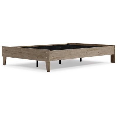 Oliah Platform Bed Natural - Signature Design by Ashley