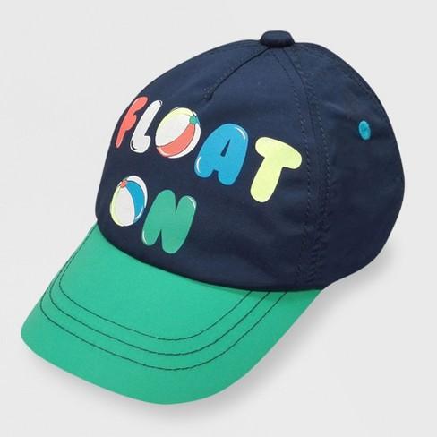 b0c50abef0a Baby Boys   Float On  Baseball Hat - Cat   Jack™ Navy 12-24M   Target