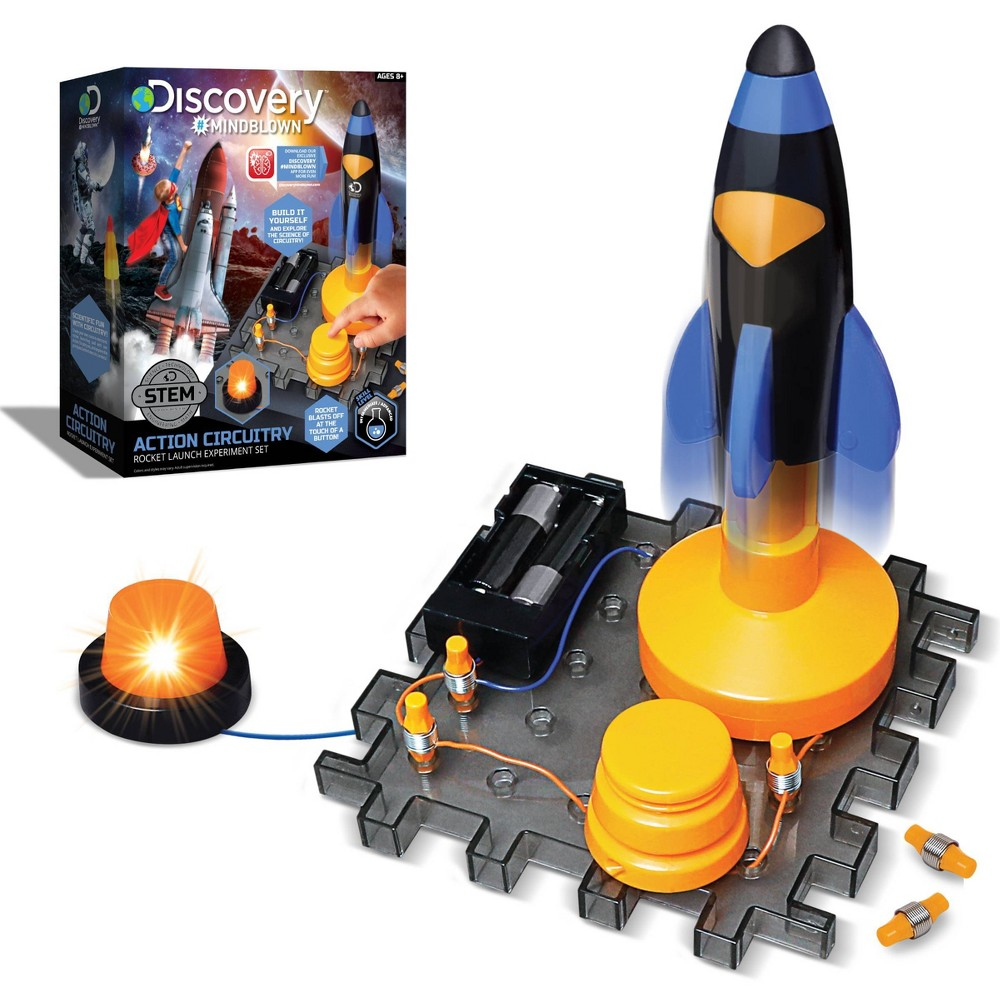 Discovery Kids Toy Circuitry Action Experiment Rocket Launch Science Kit