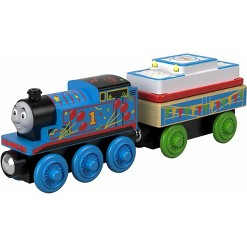 Fisher-Price Thomas & Friends - Birthday Thomas the Tank Engine - Wood