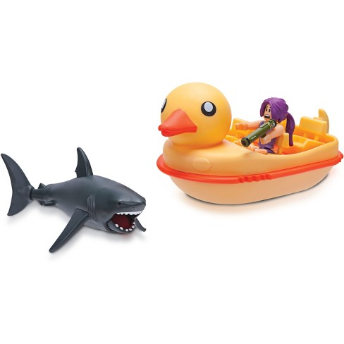 Roblox Celebrity Collection Sharkbite Duck Boat Vehicle Target
