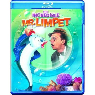 The Incredible Mr. Limpet (Blu-ray)(2012)