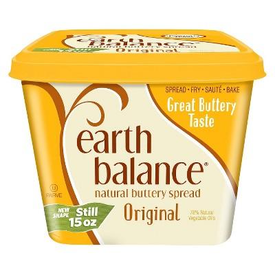 Earth Balance Original Natural Buttery Spread - 15oz