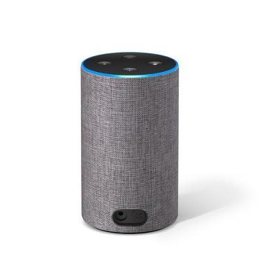 Amazon Echo (2nd Generation) Alexa-enabled Bluetooth Speaker - Heather Gray