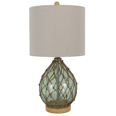 23 X 12 Rayna Rope Wrapped Table Lamp Blue Decor Therapy Target