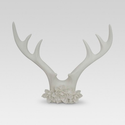 Antler Décor 14 x12  - White - Threshold™